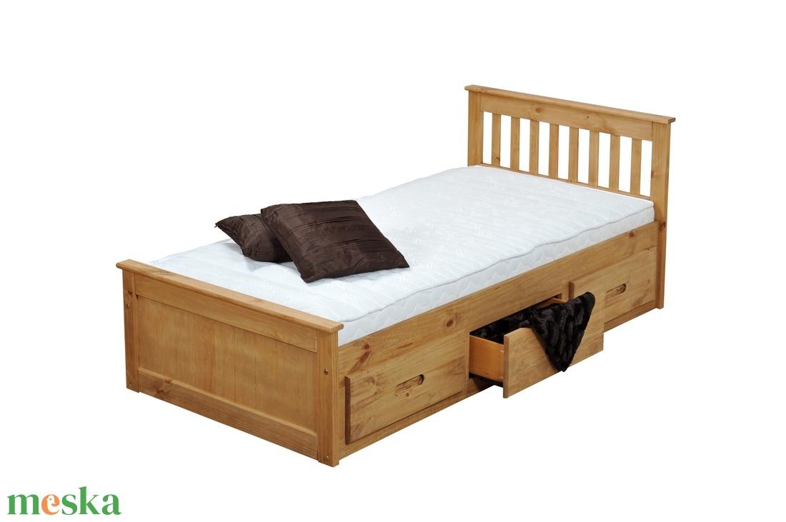 Gyerek fenyő ágy, 3db fiókkal. (kulonlegesvasak) - Meska.hu