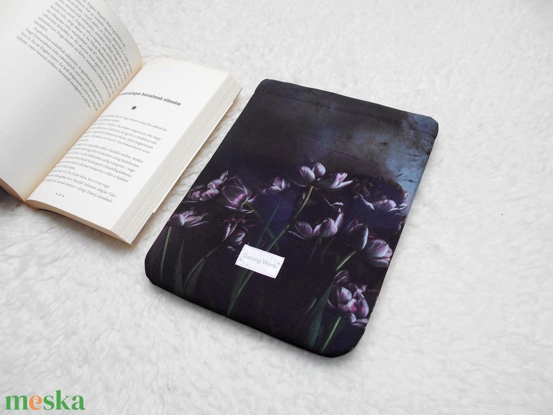 BLACK VALENTINE - Könyv Védő Tok, Könyvölelő, Könyvvászon - VÁLASZTHATÓ MÉRET! - táska & tok - laptop & tablettartó - ebook & tablet tok - Meska.hu