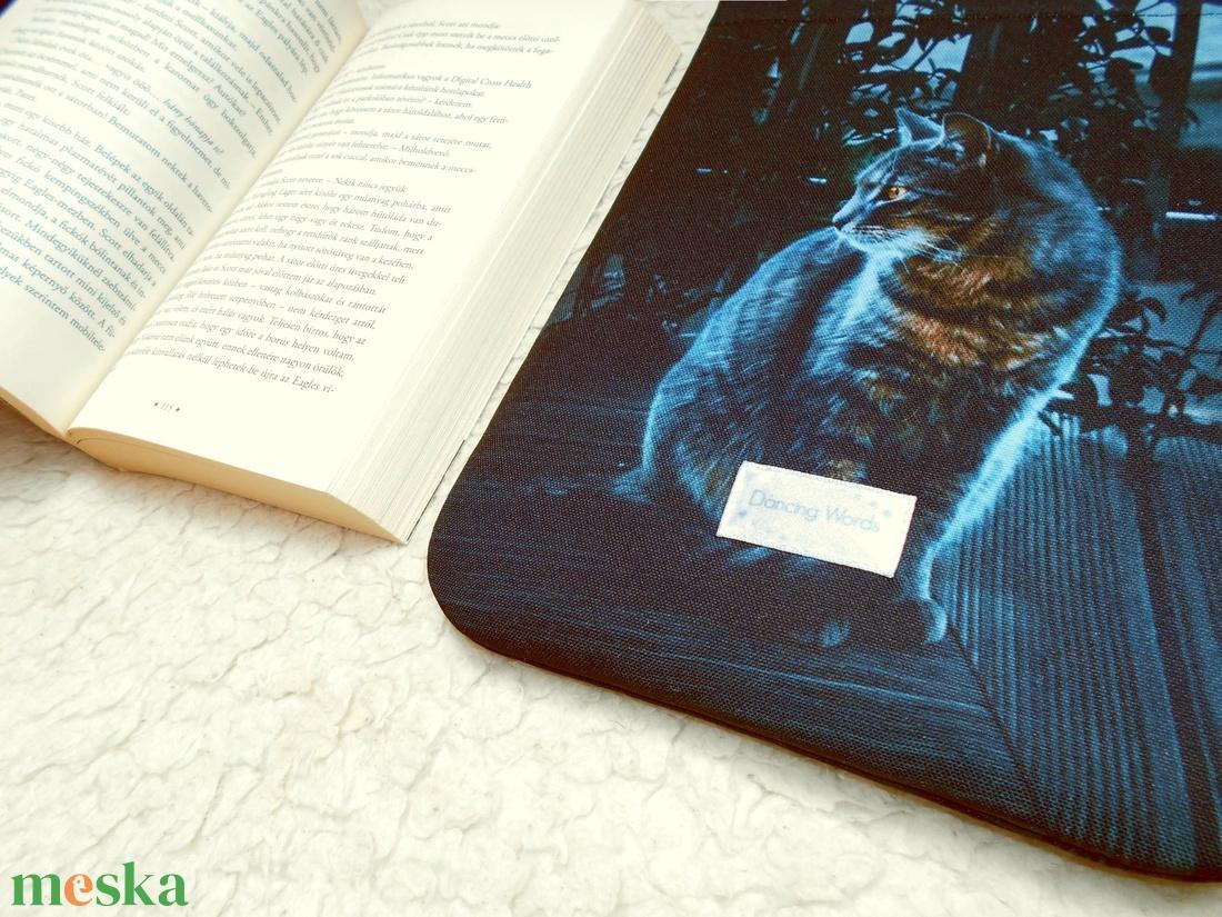 MYSTICAT - Könyv Védő Tok, Könyvölelő, Könyvvászon - VÁLASZTHATÓ MÉRET! - otthon & lakás - papír írószer - Meska.hu