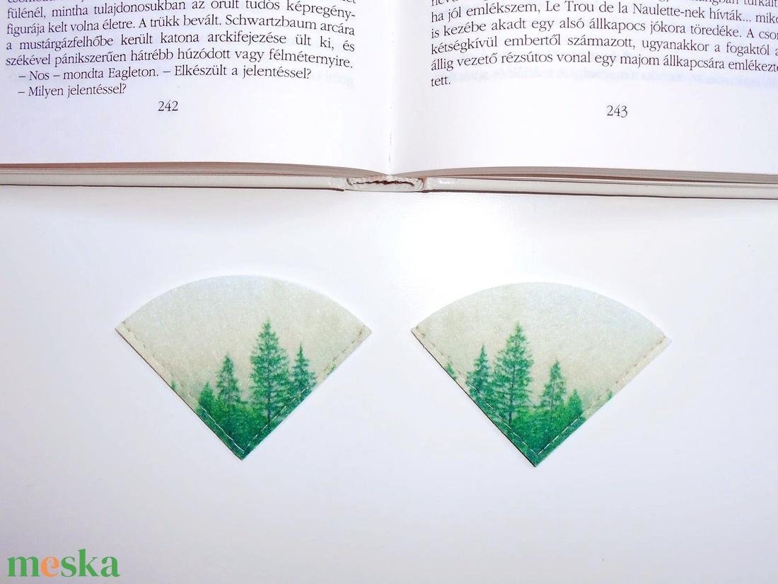 ' ERDŐ ' Könyvjelző 2db - otthon & lakás - papír írószer - könyvjelző - Meska.hu