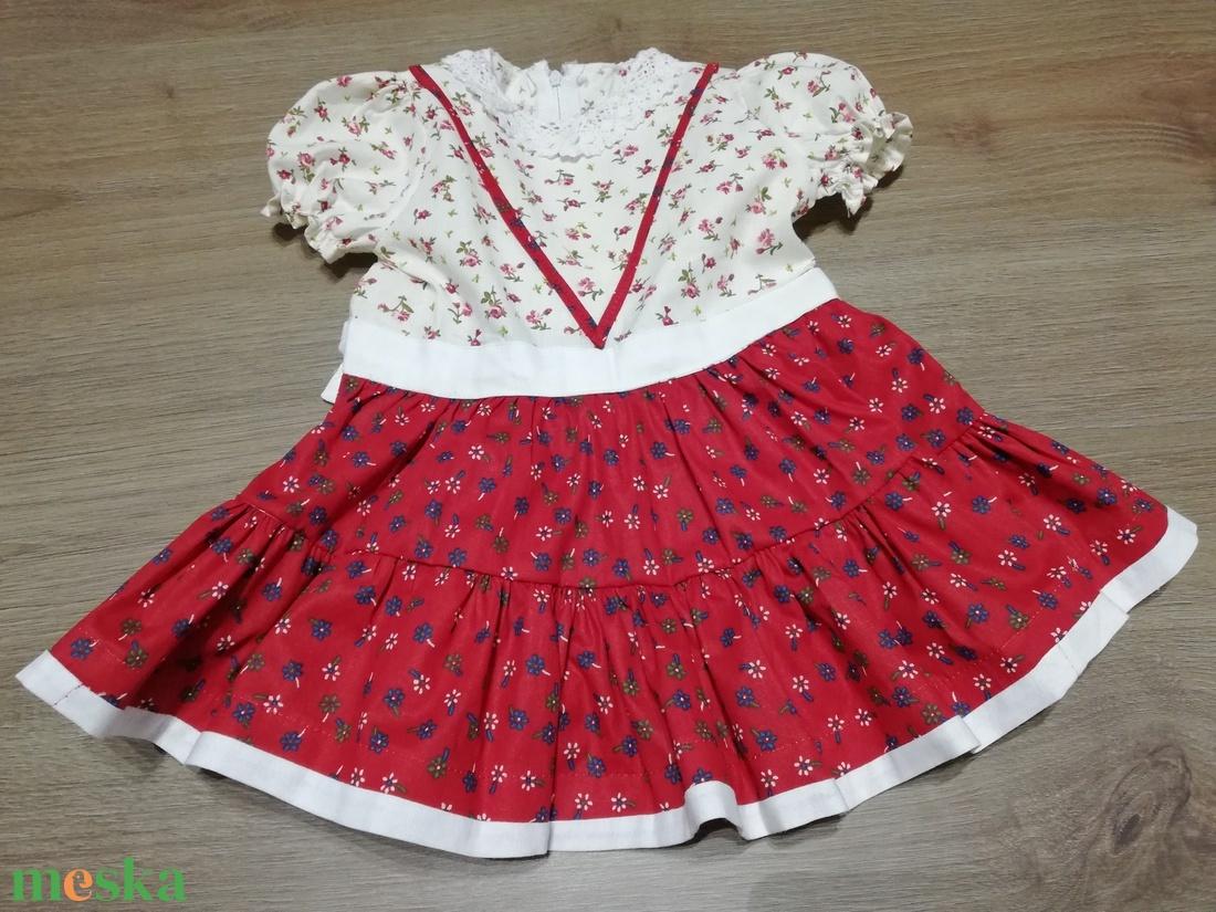 Szatmári jellegű ruha (56-98-as méret) - ruha & divat - babaruha & gyerekruha - ruha - Meska.hu