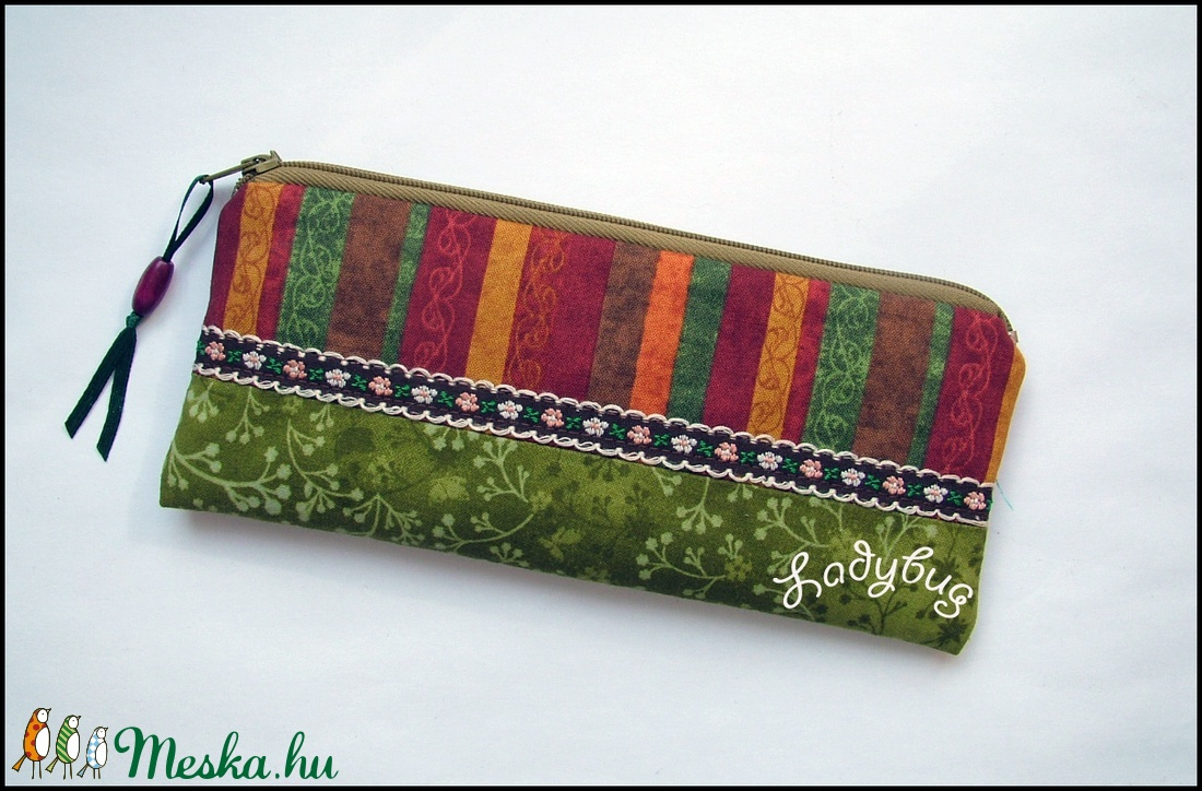 Őszi színkavalkád tolltartó (ladybug67) - Meska.hu