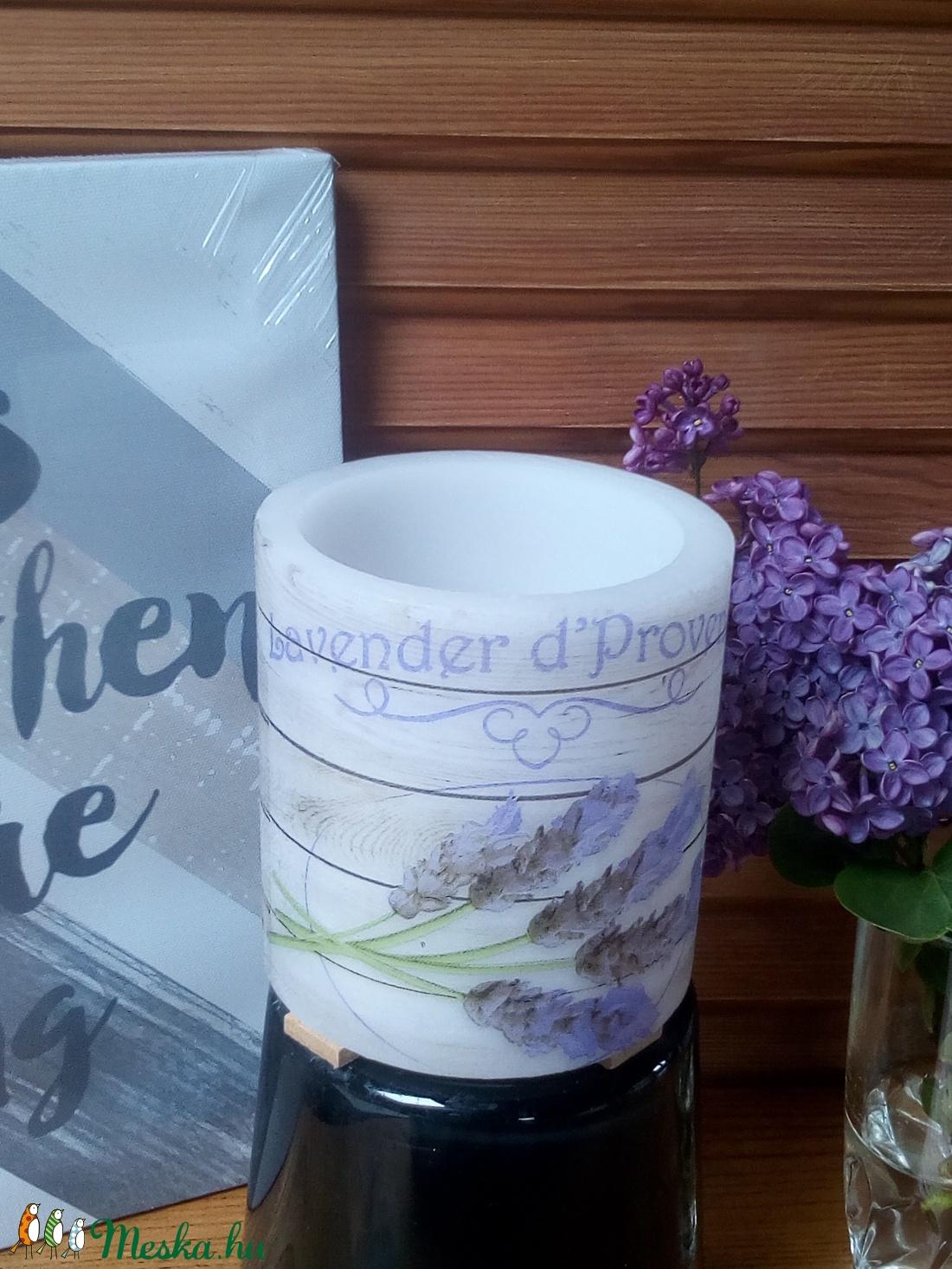 Harmony Lavender Lampiongyertya  (lampiongyertya) - Meska.hu