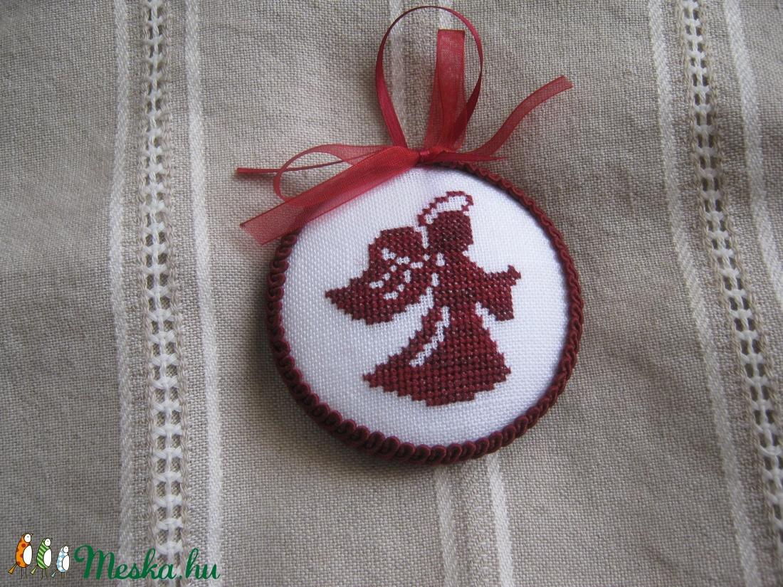 Karácsonyi dísz (latinka) - Meska.hu