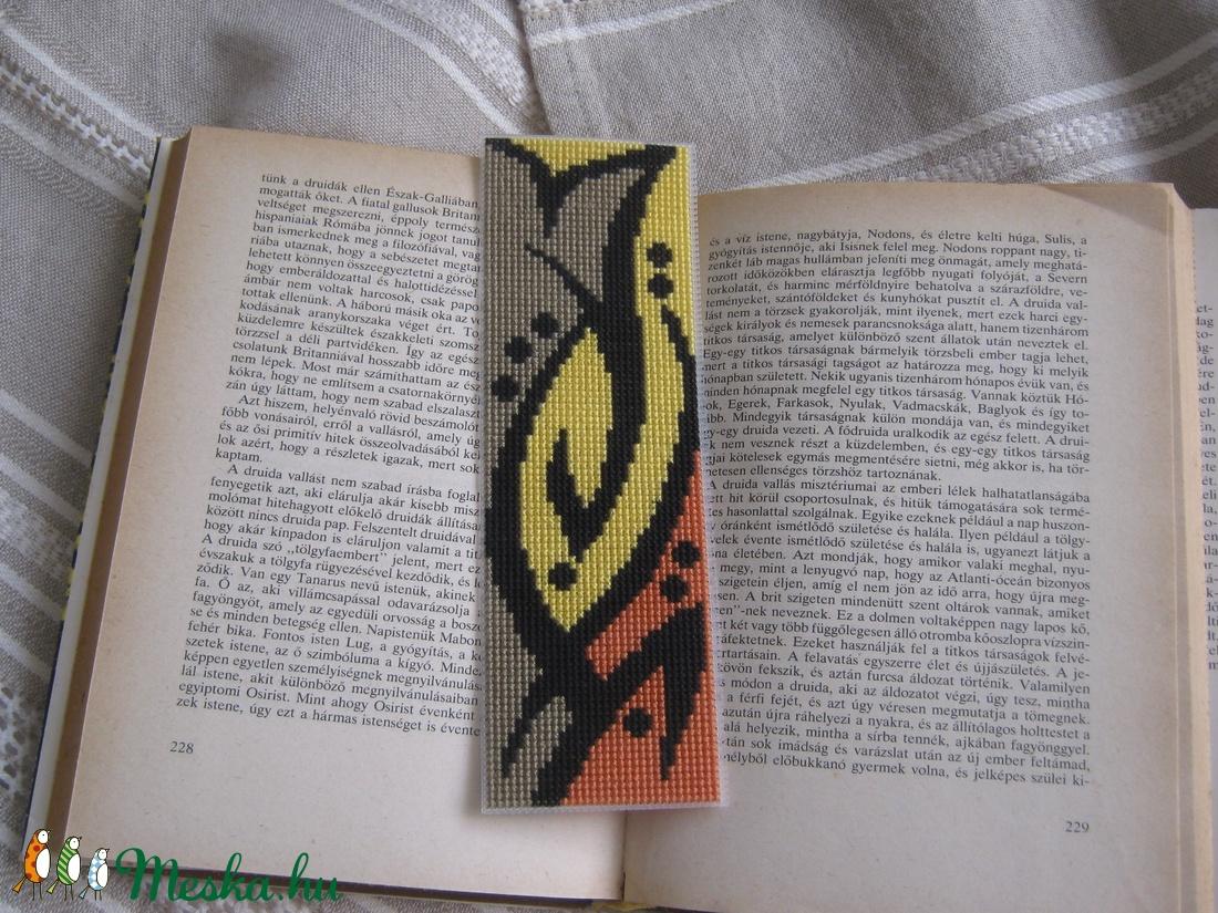 Könyvjelző (latinka) - Meska.hu