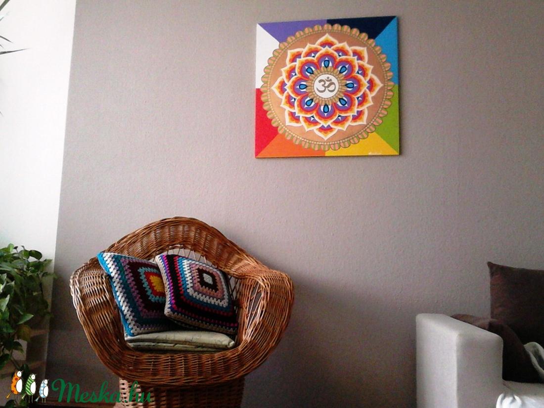 Aum Mandala - otthon & lakás - dekoráció - mandala - Meska.hu