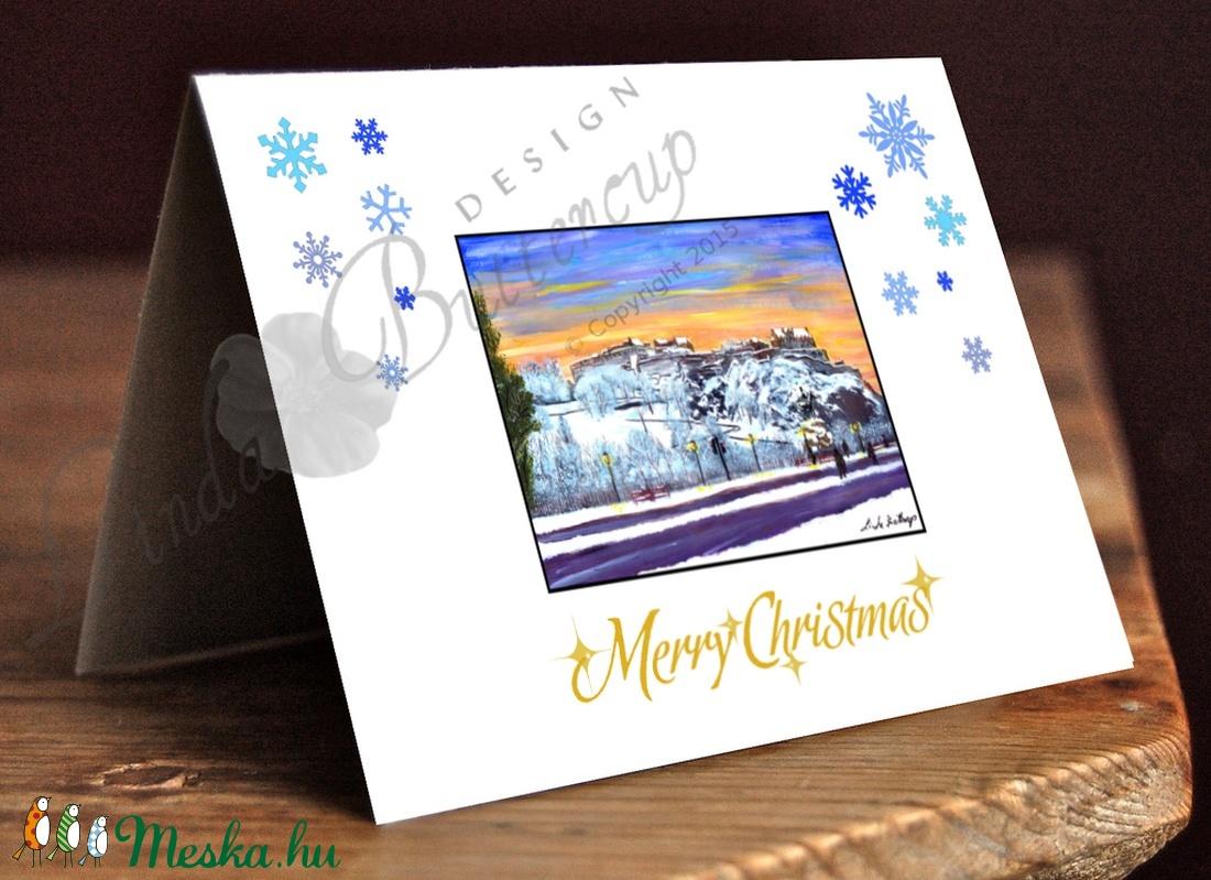 Karácsonyi Képeslap, Adventi Képeslap, Karácsonyi Dekoráció  - otthon & lakás - papír írószer - képeslap & levélpapír - Meska.hu