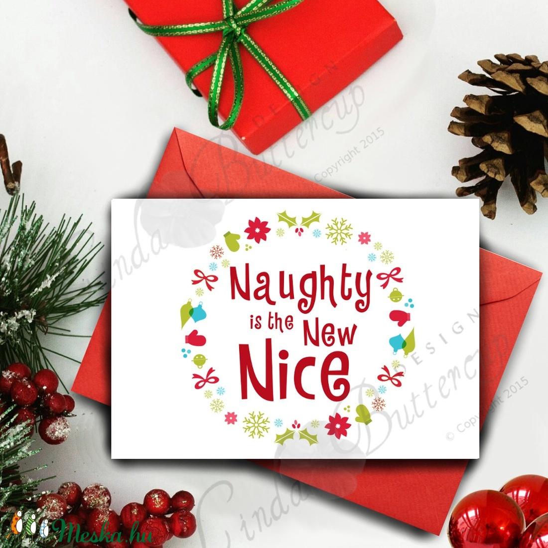 Karácsonyi Képeslap, Adventi Képeslap, Karácsonyi vicces lap, Karácsonyi üdvözlőlap - karácsony - karácsonyi ajándékozás - karácsonyi képeslap, üdvözlőlap, ajándékkísérő - Meska.hu