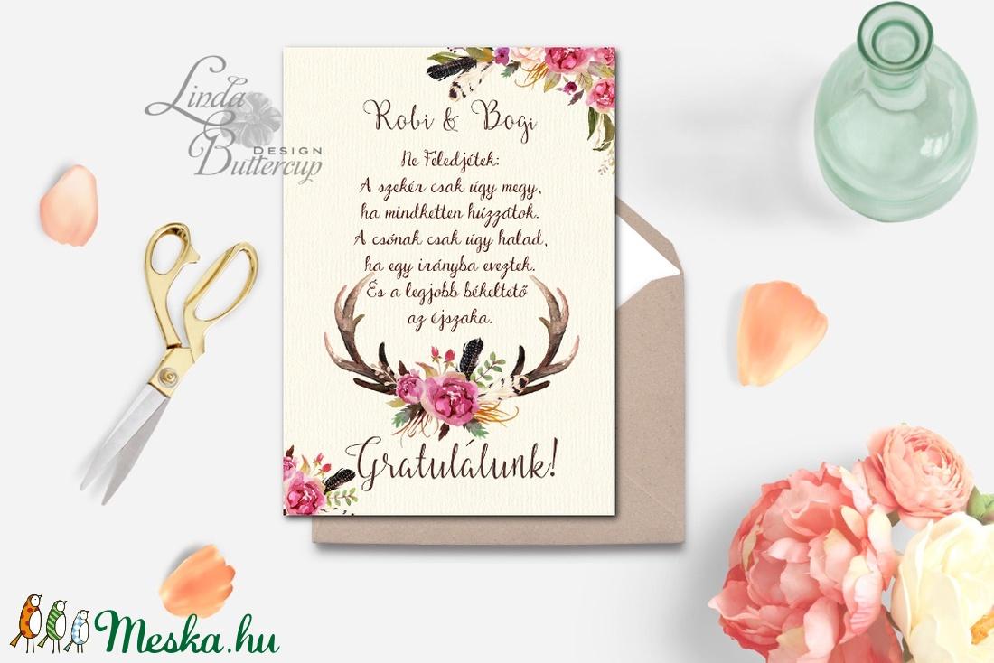 esküvői köszöntő lapok Pénz átadó boríték, Nászajándék, Gratulálunk képeslap, Esküvői  esküvői köszöntő lapok