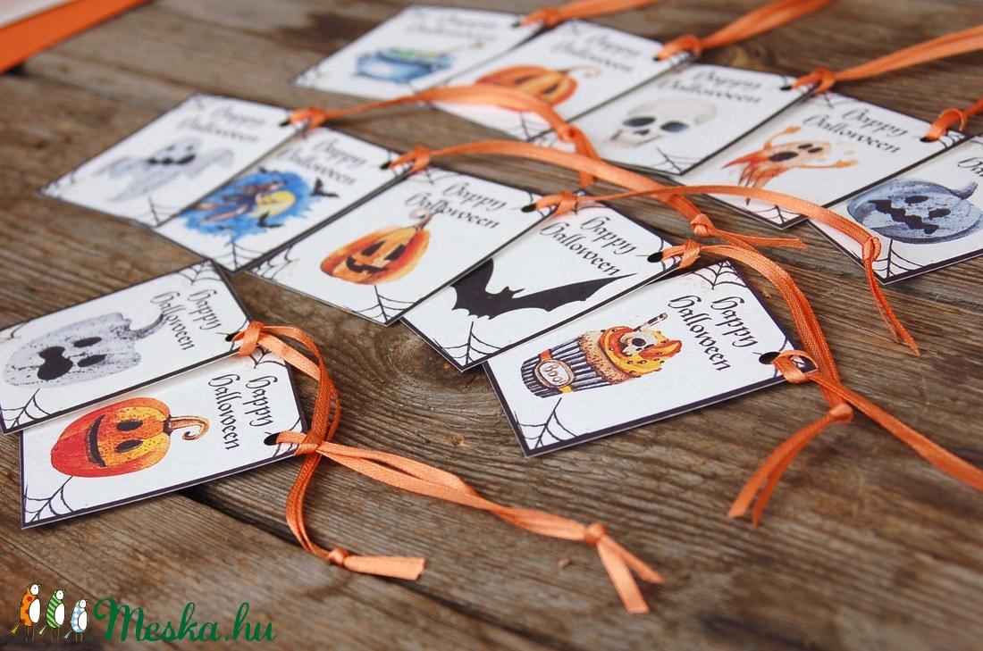Halloween ajándék kártya, Halooween dekor, Kísérőkártya, Halloween party, képeslap, ajándékkísérő - halloween - halloweeni meghívó, képeslap, ajándékkísérő - Meska.hu
