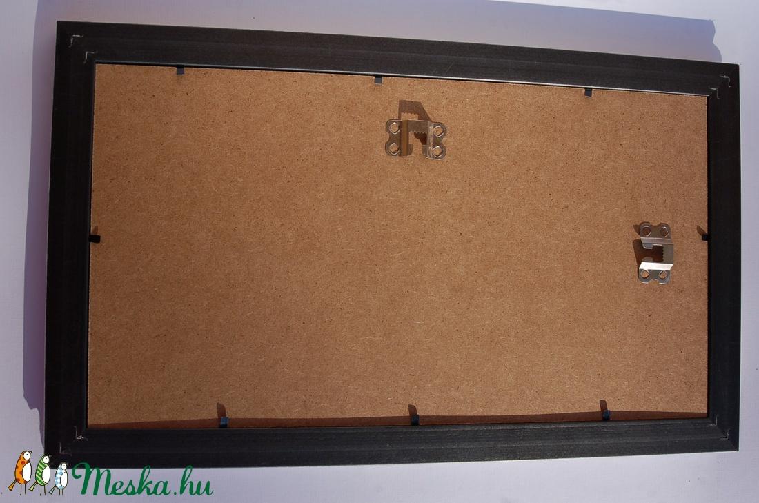 2e7f01c757 Karácsonyi Dekoráció, Karácsonyi ajándék, falikép, Téli táj, Rénszarvas,  Szarvas, Festmény, Vintage kép, keret, képkeret