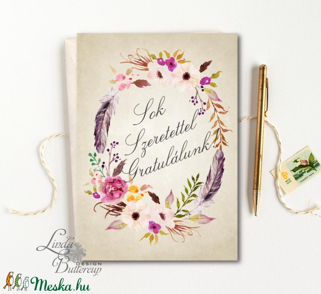 esküvői köszöntő lapok Gratulálunk képeslap, Pénzátadó lap, Esküvői gratuláció  esküvői köszöntő lapok