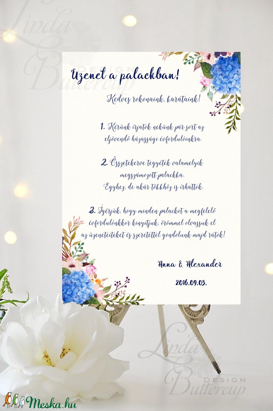 Esküvői Poszter A3, Esküvői kép, Esküvő Dekor, Esküvői felirat, Vintage, Elegáns, Virágos, Vendég - esküvő - dekoráció - helyszíni dekor - Meska.hu