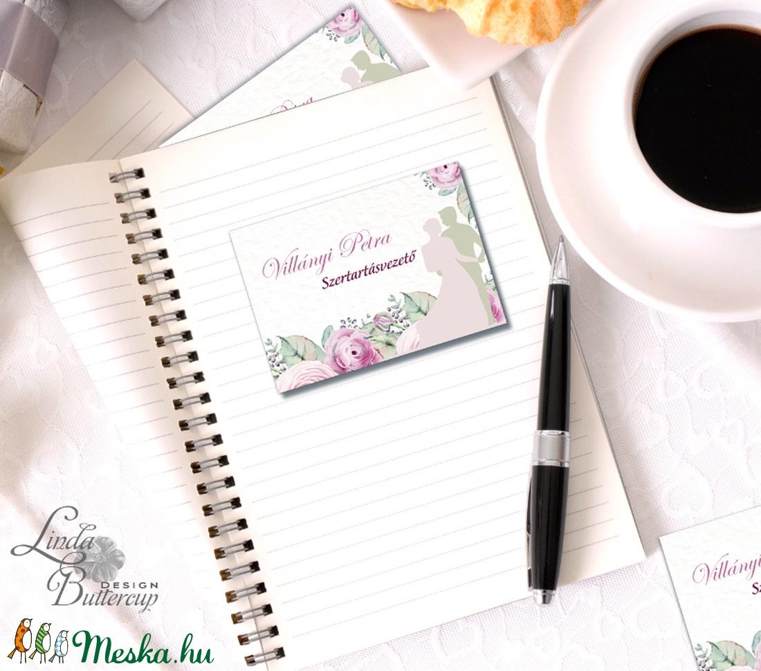 Névjegykártya, Egyedi Tervezés, fotográfus, címke, Névjegy, design, szerkesztés, virágos, logo, ajándékkísérő, logó (LindaButtercup) - Meska.hu