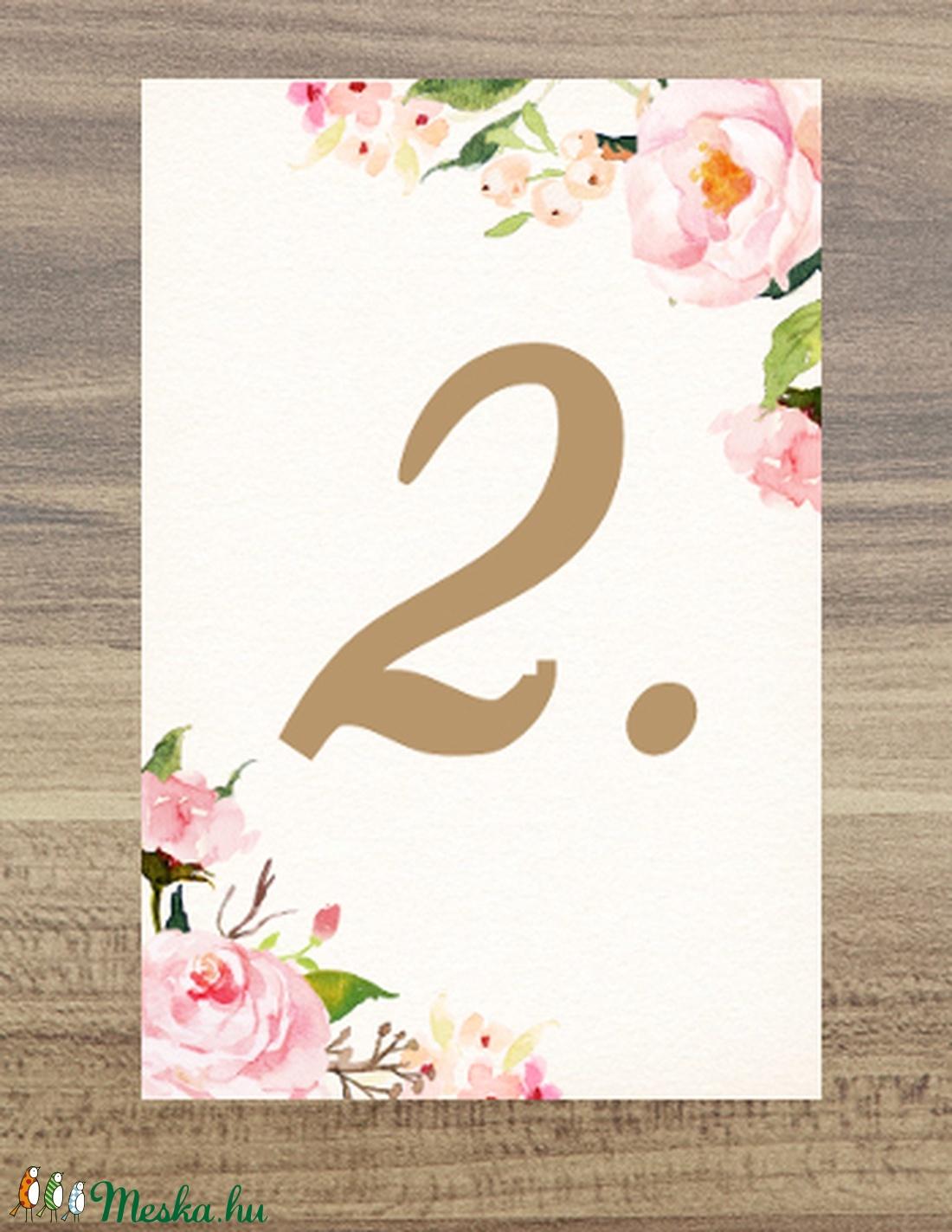 Esküvői kép, Dekoráció, kellék, Esküvői lap, Esküvő Dekor, Esküvői felirat, Vintage, Elegáns, Virágos, kártya, desszert (LindaButtercup) - Meska.hu