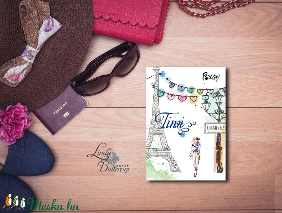 b1891a2039 Párizs Képeslap, üdvözlőlap, divatos, női, Fashion, eiffeil torony, nő  Képeslap,Tavasz, virágos, divat, francia, nőies