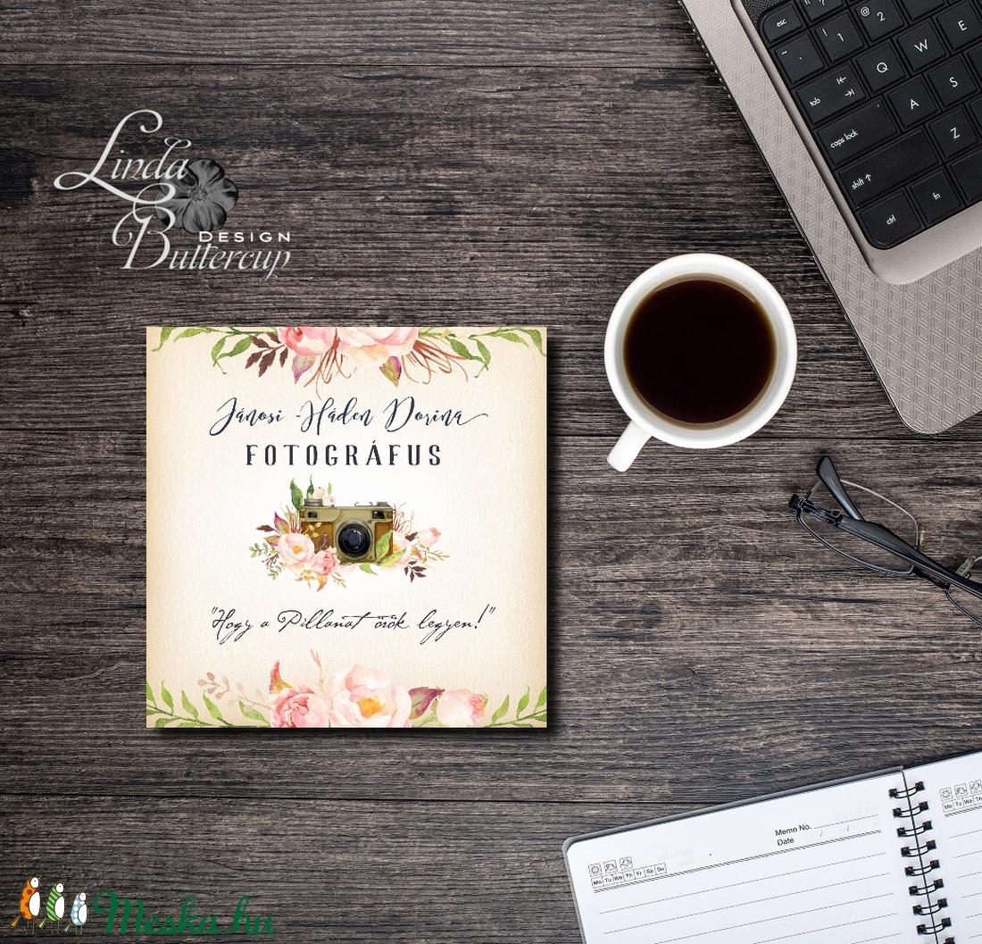 CD borító, Egyedi Tervezés, fotográfus, címke, Névjegy, design, szerkesztés, virágos, logo, ajándékkísérő, logó, busines (LindaButtercup) - Meska.hu