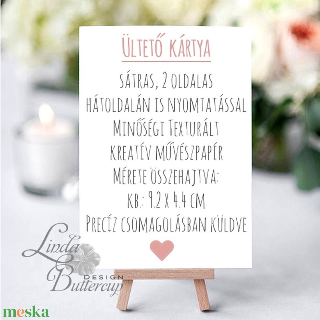 Esküvői ültetőkártya, ültető, Rózsa, Rózsás kártya, virágos ültető, ültetésirend, hely kártya, virágos esküvői dekoráció - esküvő - meghívó & kártya - ültetési rend - Meska.hu