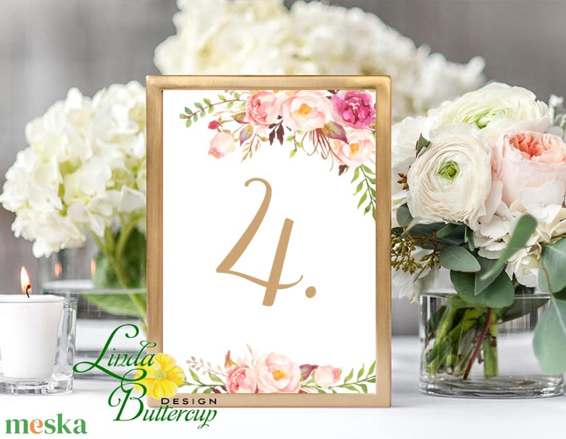 Asztalszám kártya, Ültetési rend, Dekoráció, kellék, Esküvői lap, Esküvő Dekor, Esküvői felirat, kártya, desszert - esküvő - meghívó & kártya - ültetési rend - Meska.hu