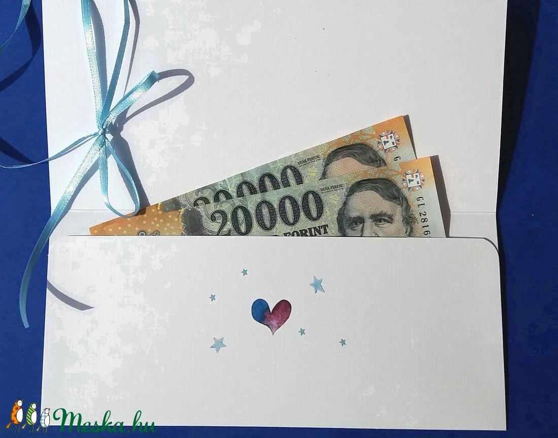 Pénzátadó boríték, Unikornis, unicorn, póni, szivárvány, kislány, szülinapi ajándék, arany, leánybúcsú, utalvány átadó - otthon & lakás - papír írószer - boríték - Meska.hu