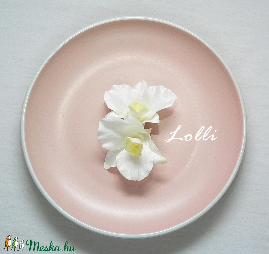 Dupla orchideás menyasszonyi fejdísz (Lolli) - Meska.hu