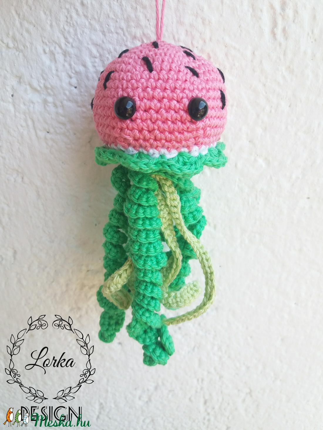 Dinnye medúza  (Lorafashion) - Meska.hu