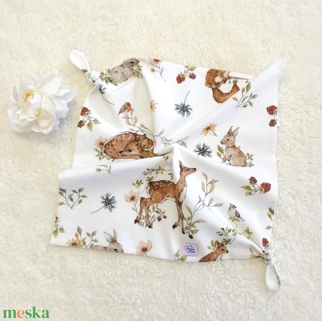 Szundikendő, erdei állatok (LuannaBaby) - Meska.hu