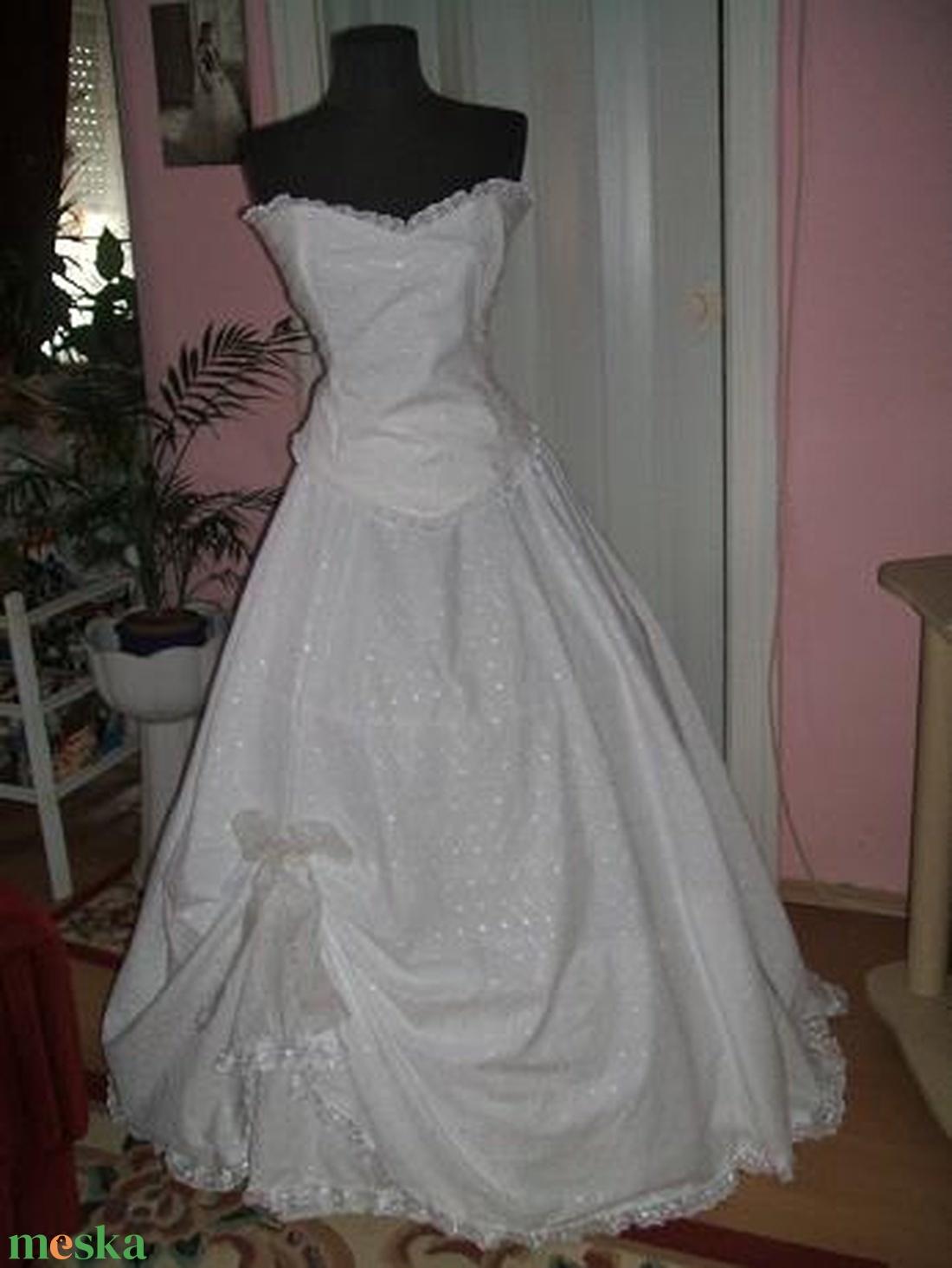 Madeira csipke, két részes menyasszonyi, alkalmi ruha. - Meska.hu