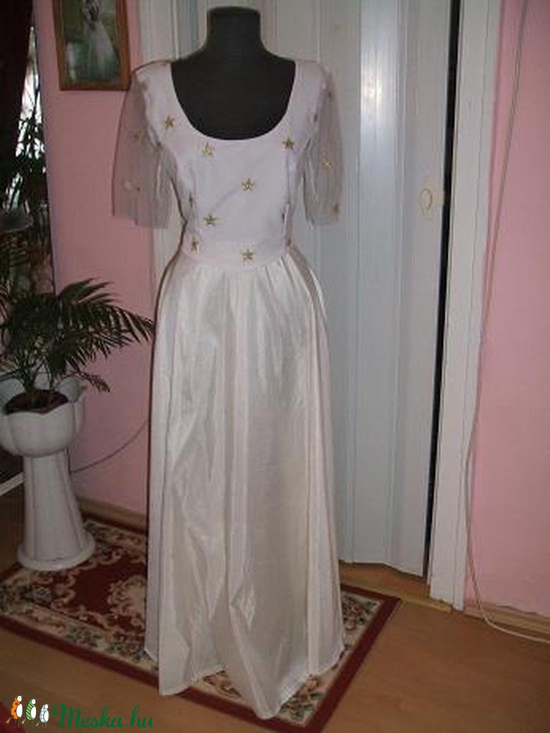 Menyasszonyi, alkalmi ruha, táncruha, elegáns. - Meska.hu