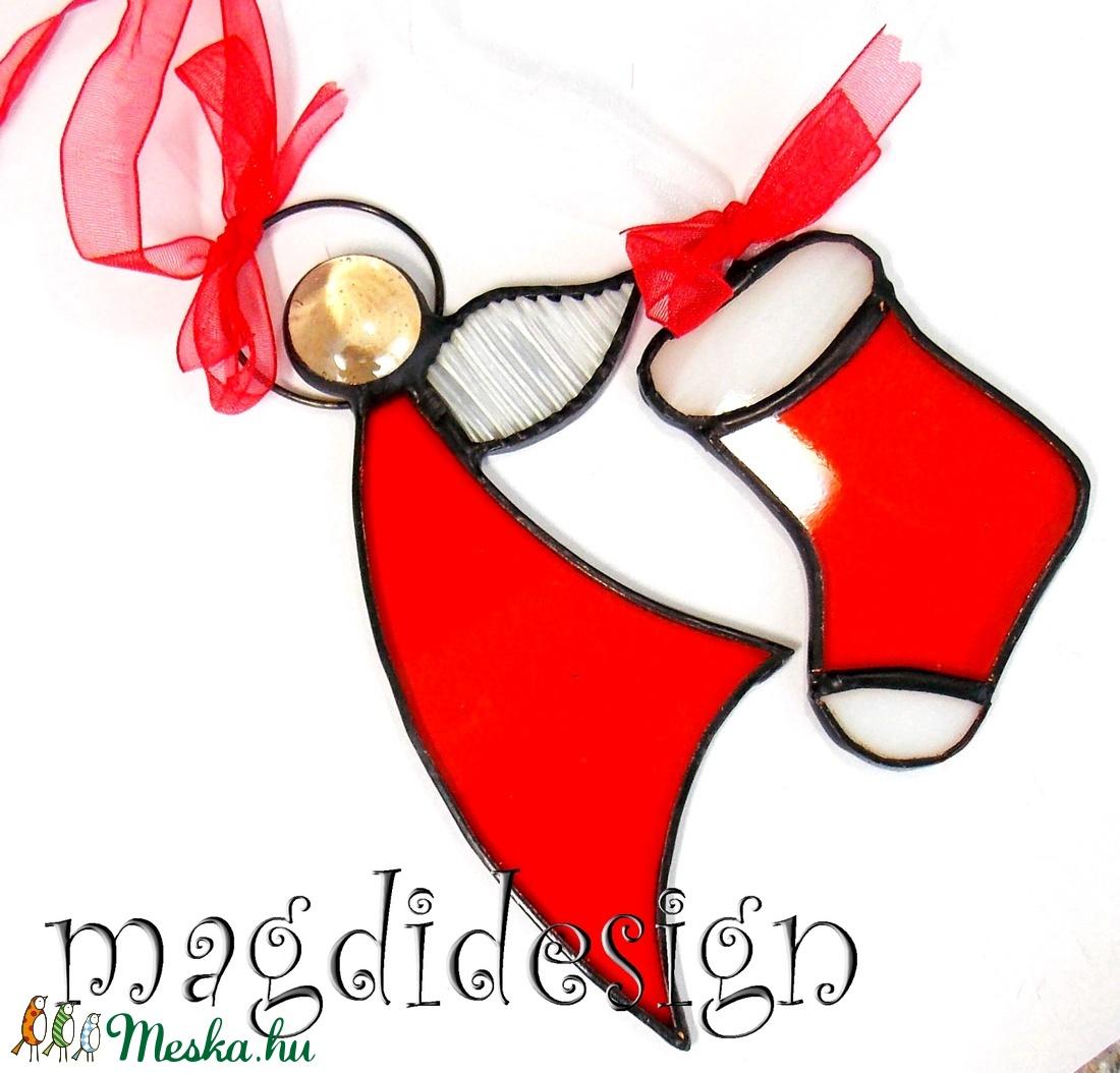 Piros angyalka és kis csizma (magdidesign) - Meska.hu