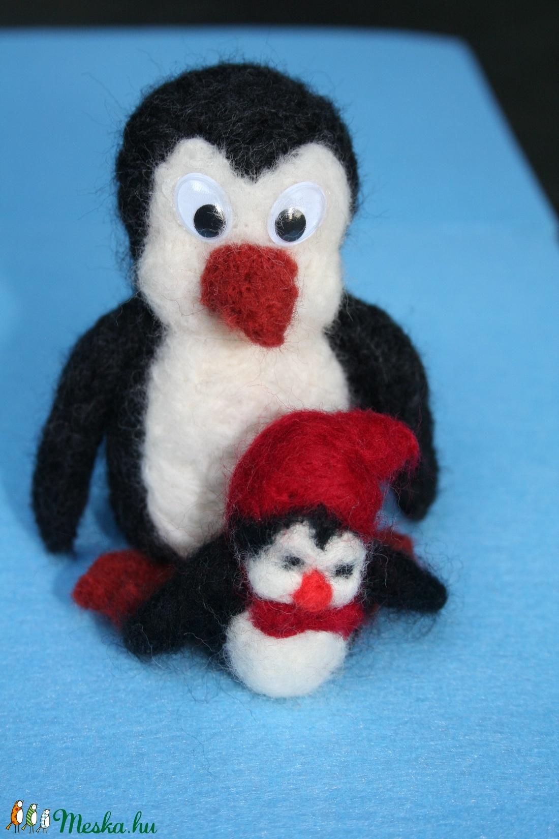 Pingu és Pingi  (Malnacskaworkroom) - Meska.hu