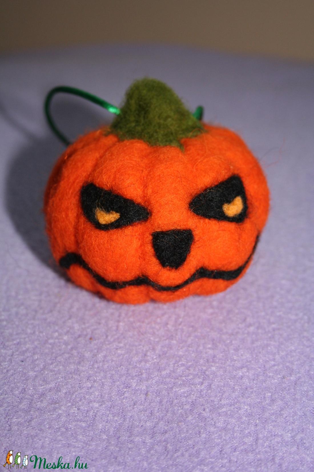 Halloween  morcos tököcske - halloween - halloweeni tök és lámpás - Meska.hu