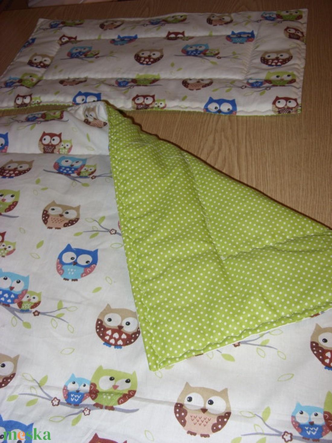 Baba látogatásra is -Bébi 1 ágynemű szett választható design textilekből - otthon & lakás - lakástextil - szett kiságyba - Meska.hu