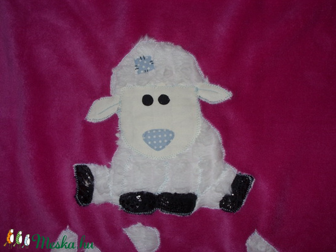 Egyedi takaró- patchwork bárányka Puha baba takaró applikációval  (MamaMariko) - Meska.hu 58ed4aa7a0