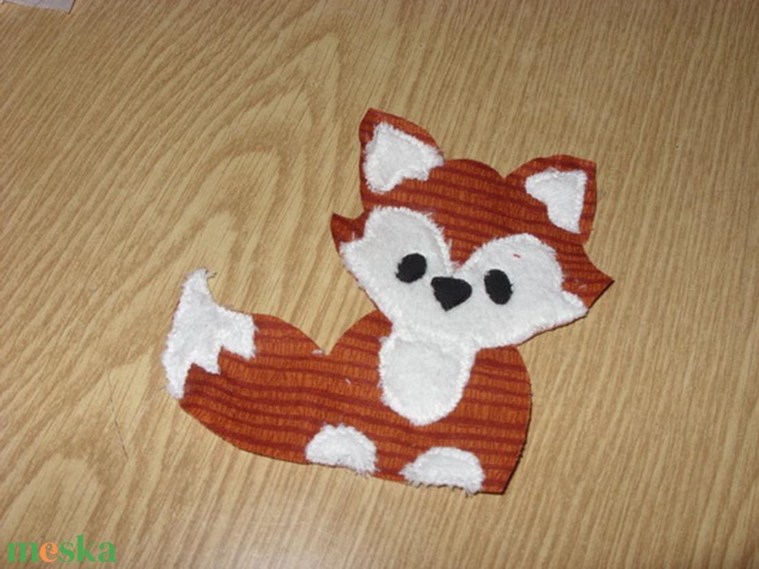 Egyedi takaró - patchwork rókával - Puha baba takaró applikációval  (MamaMariko) - Meska.hu 13268fcf1b