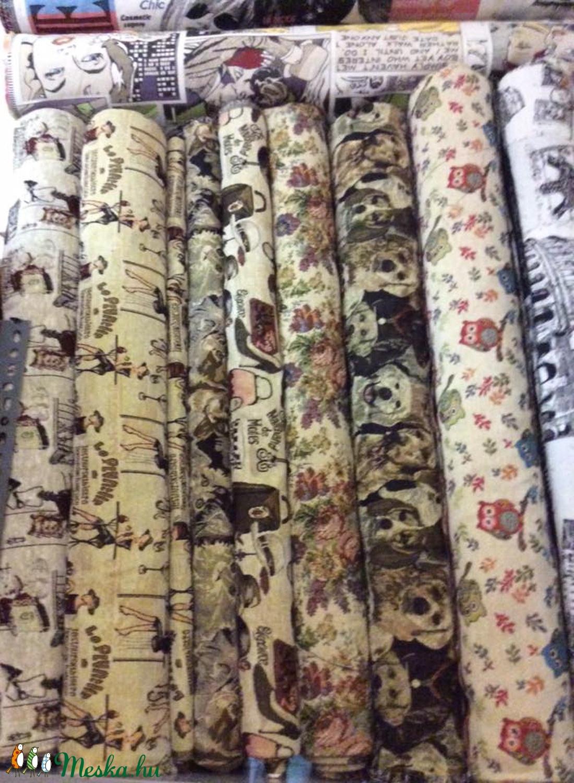 GOBELIN Bútorszövet - több féle extra jaquard design textil 150 cm - több féle - textil - pamut - Meska.hu