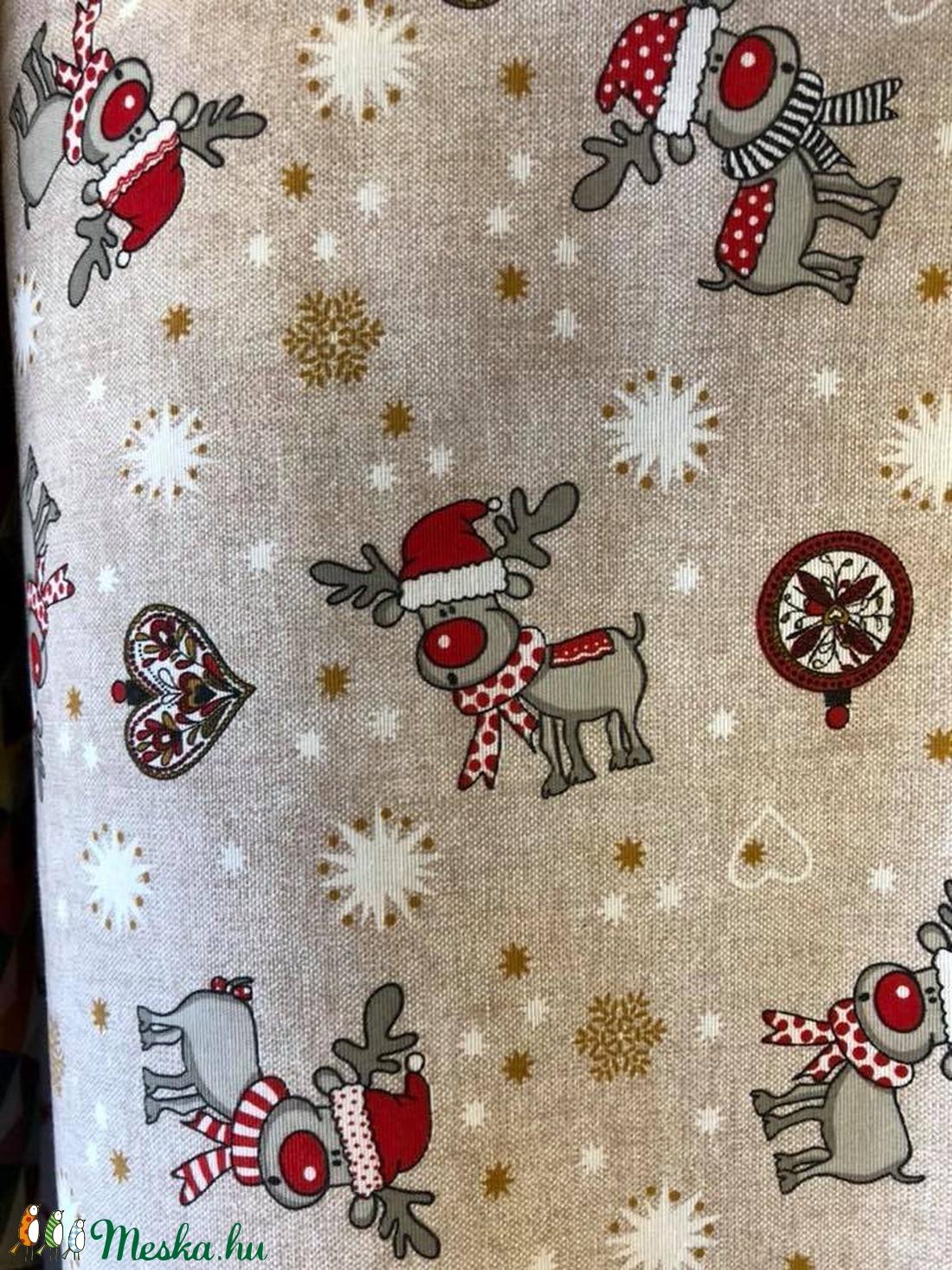 Dekor Bútorvászon párnahuzat - karácsonyi mintákkal is választható mintával  - otthon & lakás - lakástextil - párna & párnahuzat - Meska.hu