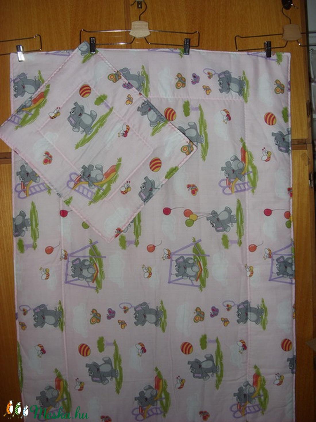 Bélelt 2 db-os ágynemű ovisoknak is - kevert szálas design textilek - játék & gyerek - Meska.hu