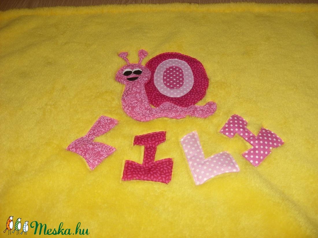 Egyedi gyerkőc takaró 0 - 6 éves -  választható bájos applikációval  - otthon & lakás - lakástextil - takaró - Meska.hu