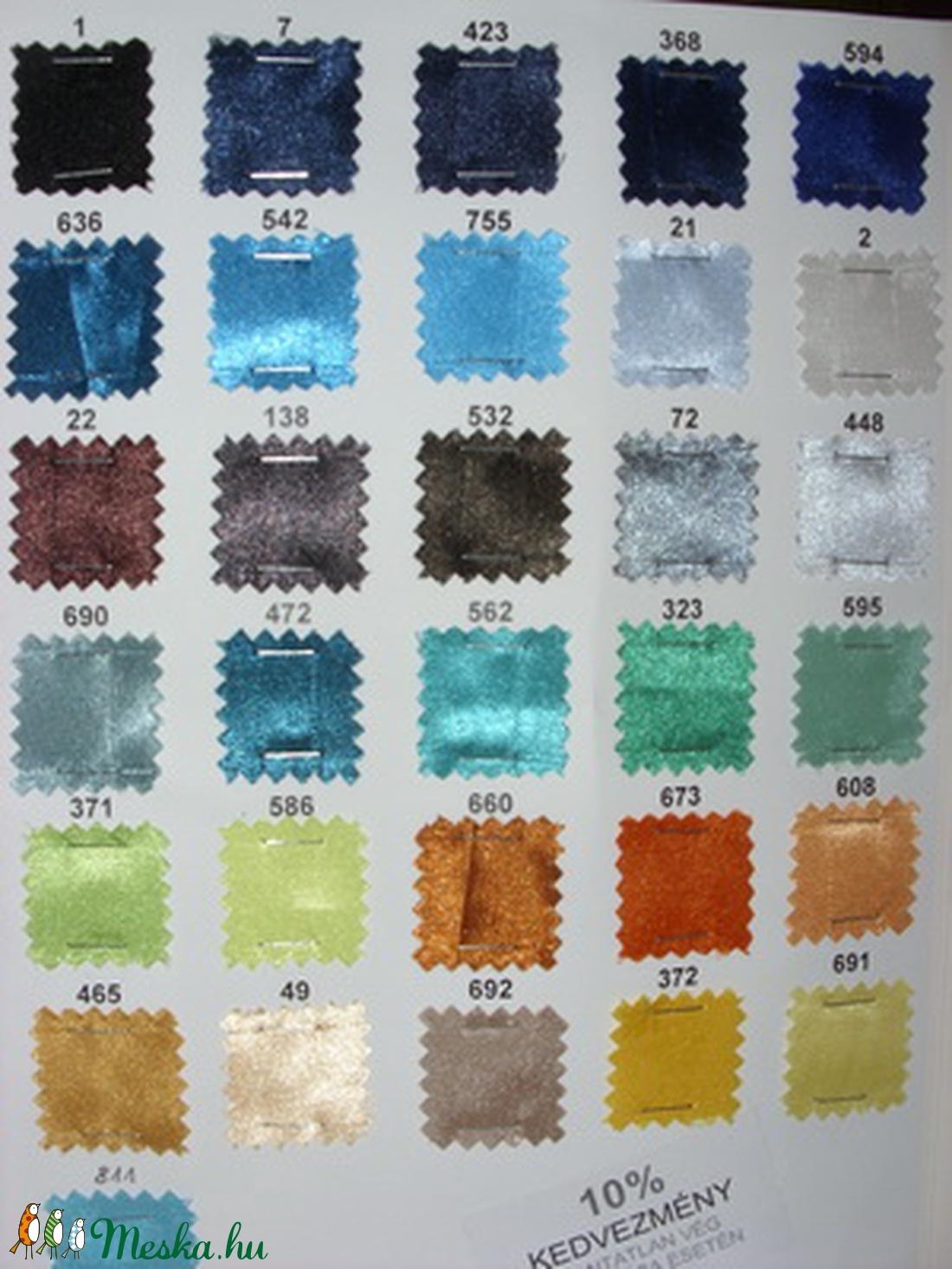 Csodás ezüst és sok más szín szatén 150 cm 990.-Ft - textil - selyem - Meska.hu