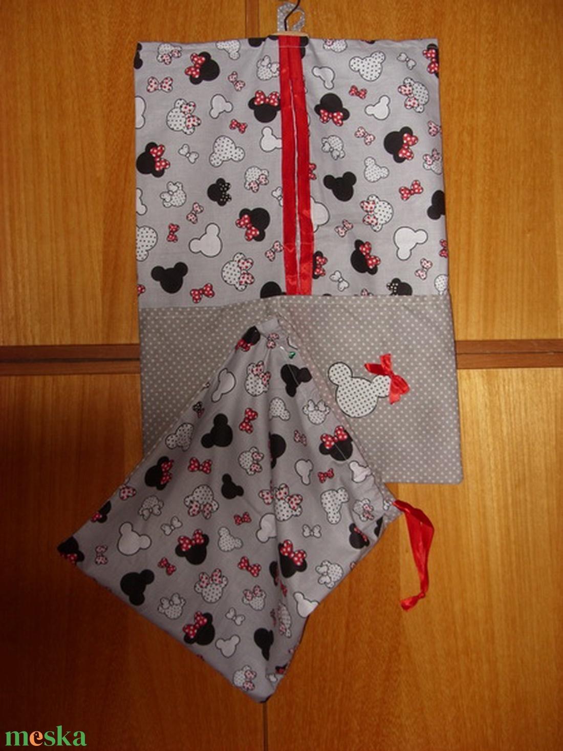 2 db-os csajos vállfás ovis ruha- és tornazsák szett   100% design pamut - ökotex kombó - játék & gyerek - Meska.hu