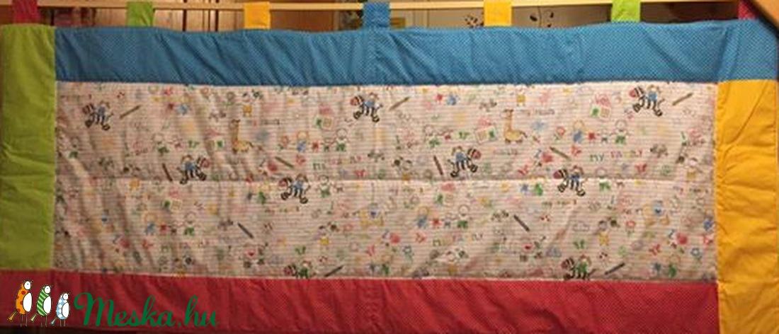 Gyerekrajz mintás - vidám kerettel falikép falvédő 100% design pamut 185 x 77 cm - otthon & lakás - lakástextil - falvédő - Meska.hu