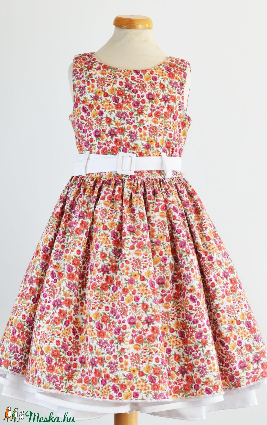 virágos ruha (mamavarrta) - Meska.hu