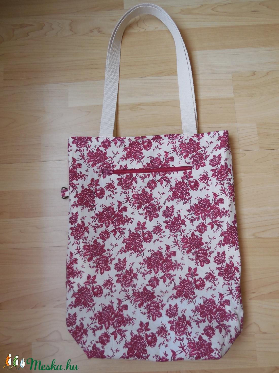 Kifordítható farmer - vászon óriás táska (mandasagok) - Meska.hu 4902bed3f8
