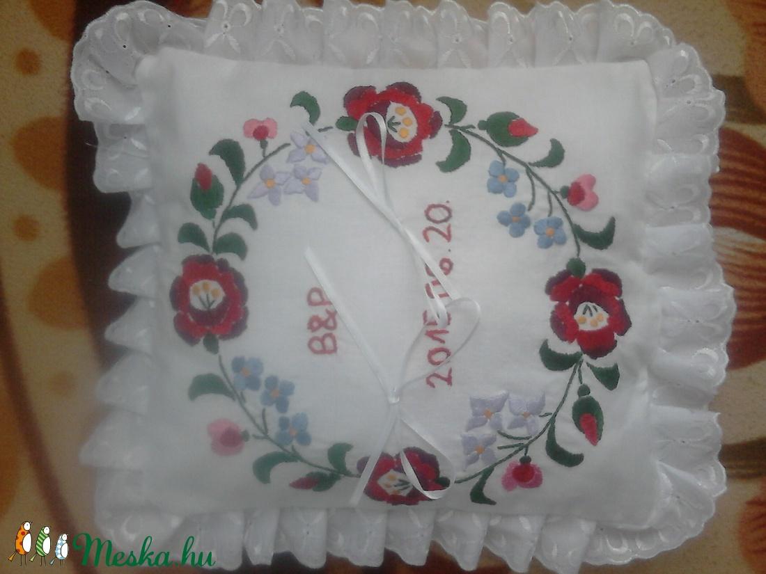 Gyűrűpárna - esküvő - kiegészítők - gyűrűtartó & gyűrűpárna - Meska.hu