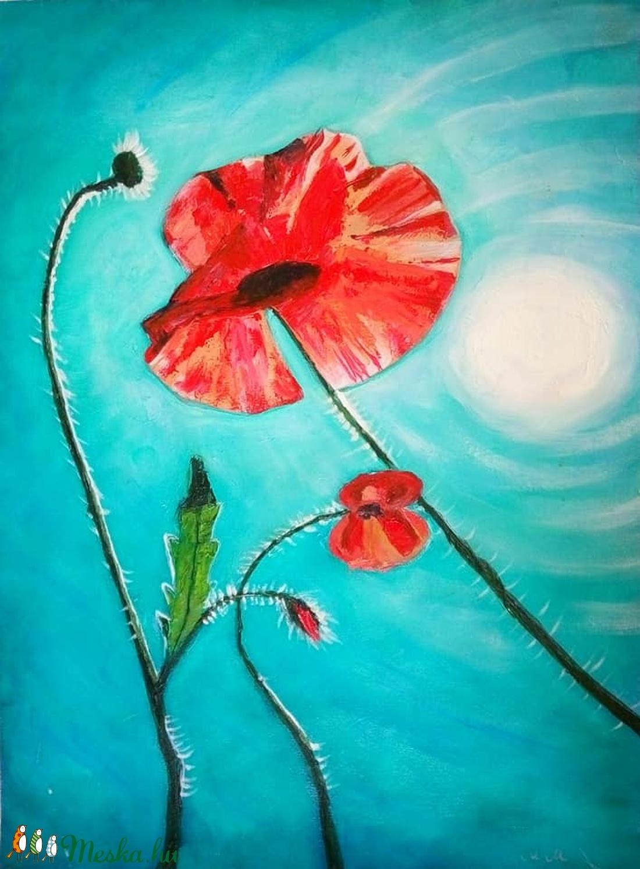 Hot summer poppies (Marmancs) - Meska.hu