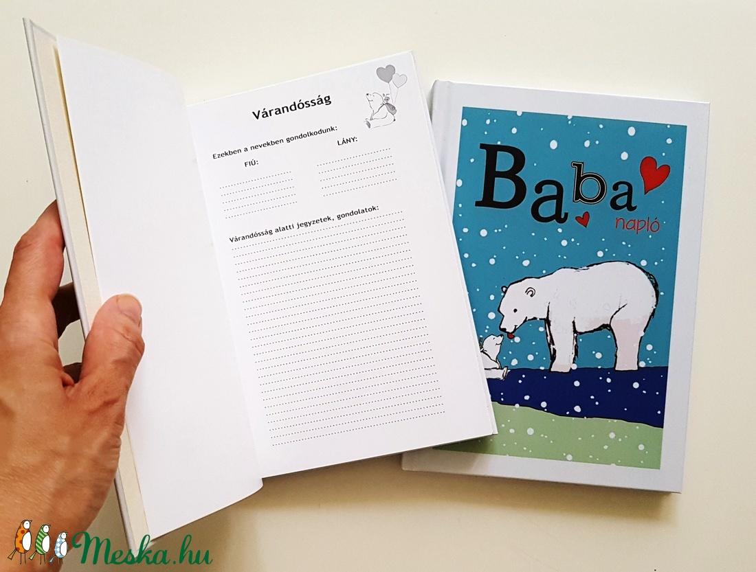 Jegesmacis babanapló  - otthon & lakás - papír írószer - jegyzetfüzet & napló - Meska.hu