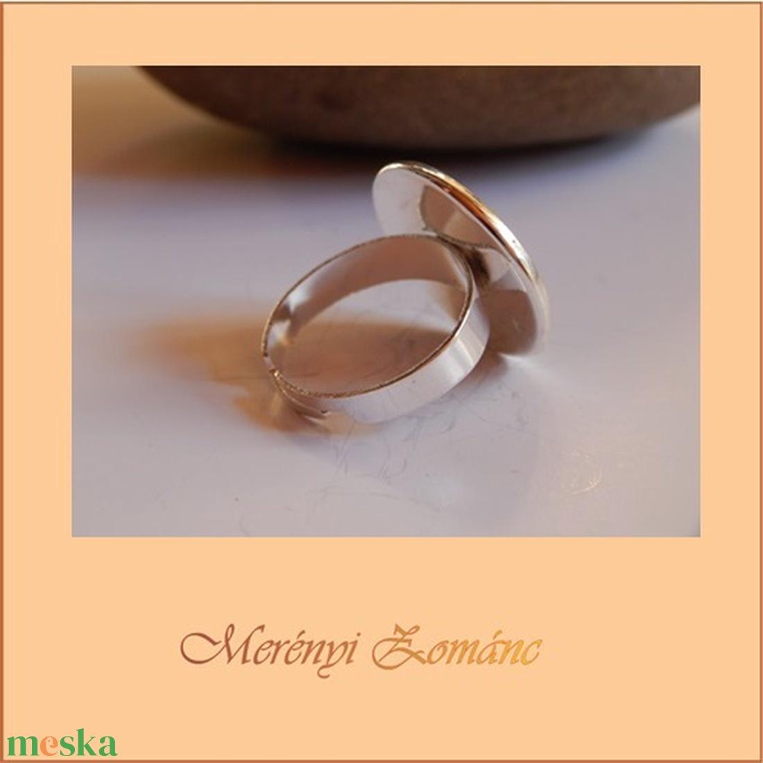 Tűzzománc gyűrű - ékszer - gyűrű - statement gyűrű - Meska.hu