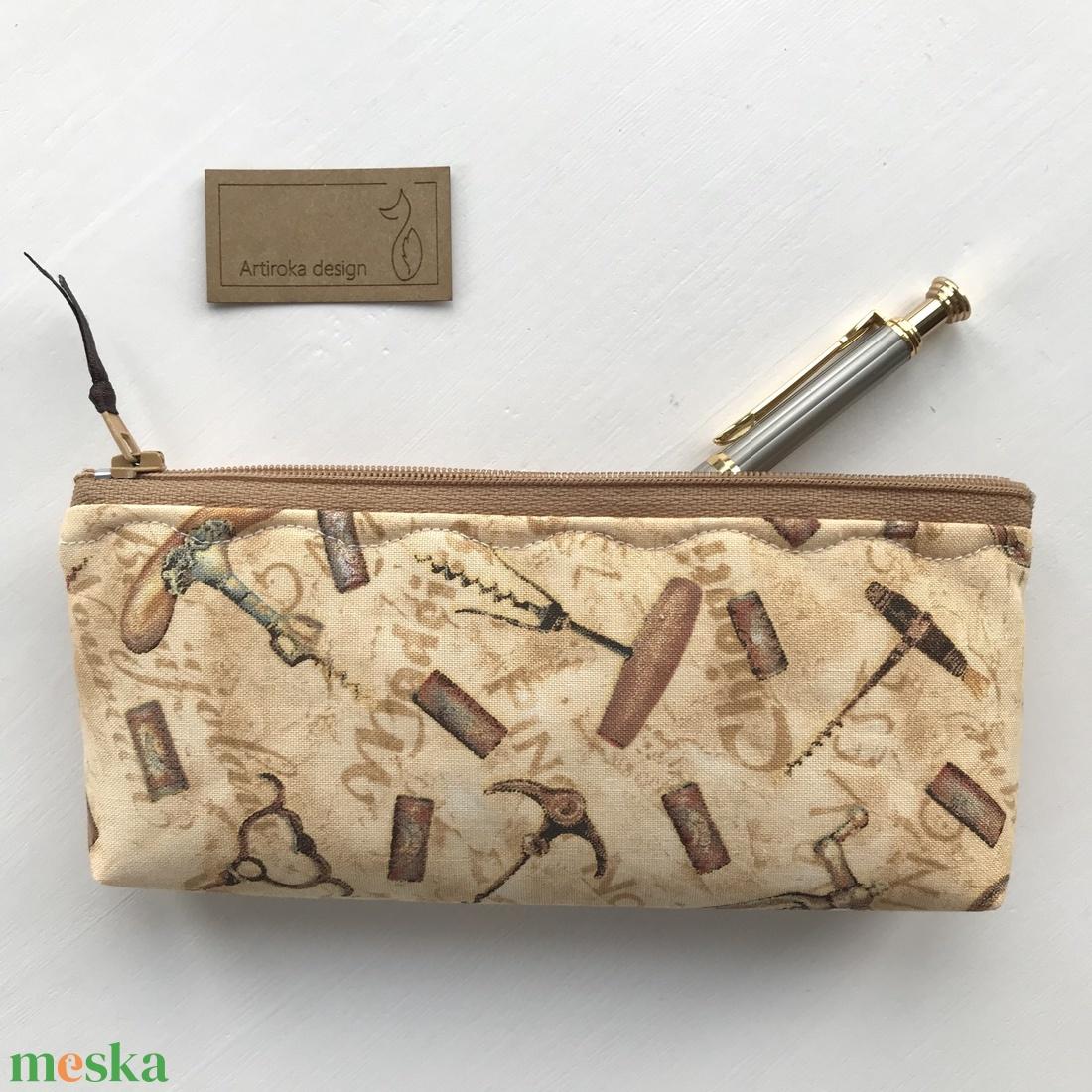 Bor, Mámor, Provence - irattartó vagy tolltartó -  szemüvegtok - neszesszer  - Artiroka design  - táska & tok - neszesszer - Meska.hu
