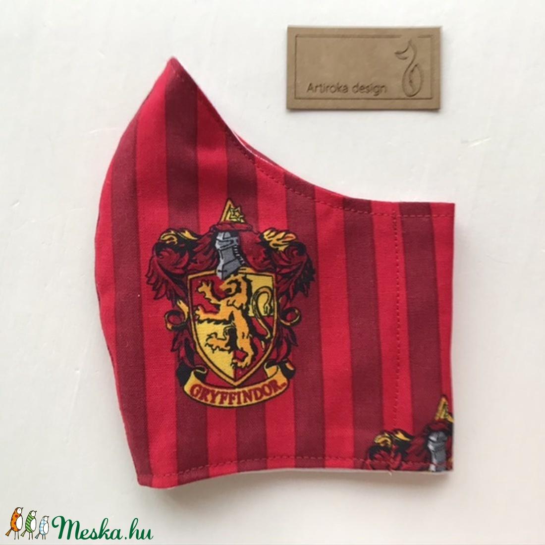 Harry Potter mintás arcmaszk, szájmaszk, maszk - Artiroka design - ruha & divat - Meska.hu